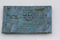 Ship's Plaque, built 1975