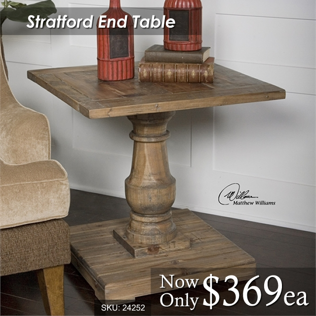 24252 Stratford End Table