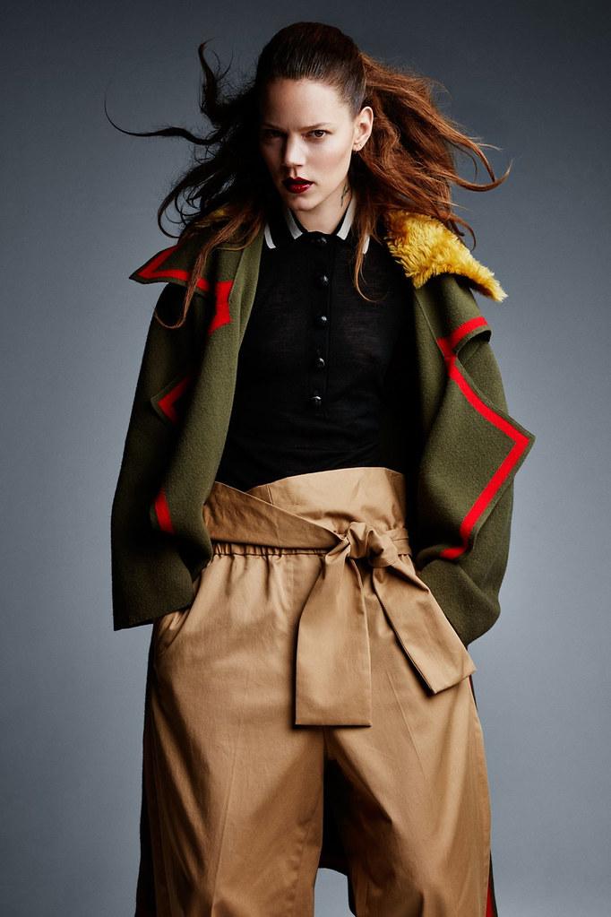 Фрея Беха Эриксен — Фотосессия для «Vogue» UK 2016 – 10