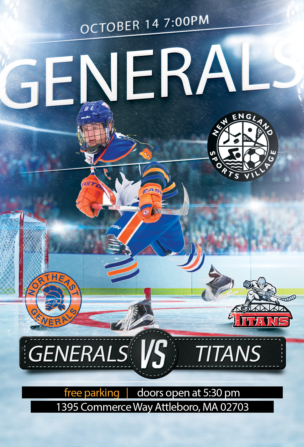 Northeast Generals Vs New Jersey Titans