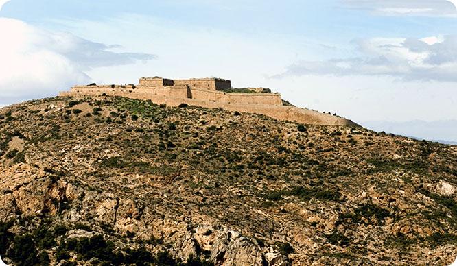 Cartagena recupera el castillo de la Atalaya