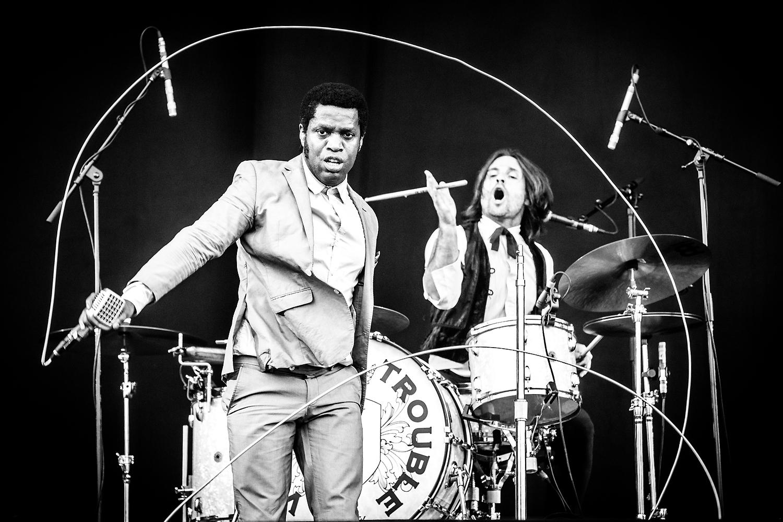 Vintage Trouble @ Rock Werchter 2016 (Jan Van den Bulck)