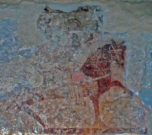 Wallpainting St George (2)