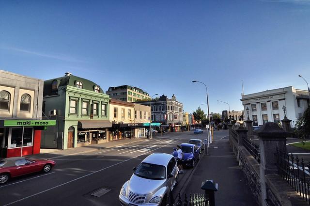 Street in Dunedin