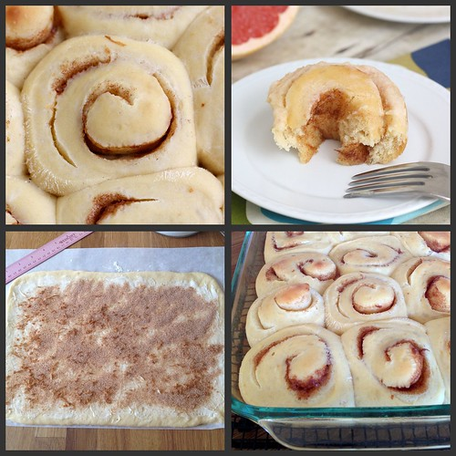 Ruby Red Cinnamon Rolls