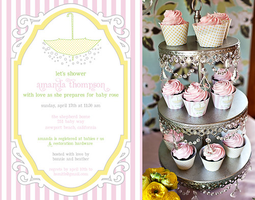 Sprinkle Shower: Girl Baby Shower 2