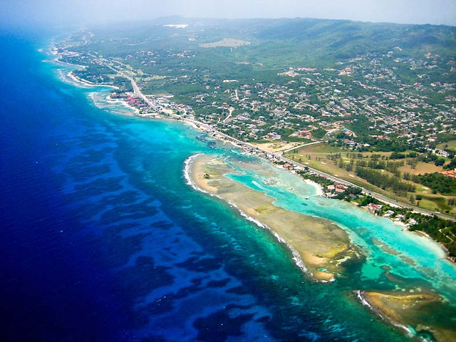 Aerial View of Jamaican Coastline | Flickr - Photo Sharing!