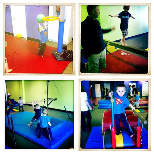 Little gym bday party today. Too much fun!