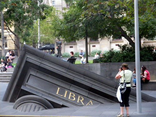 Library sinking