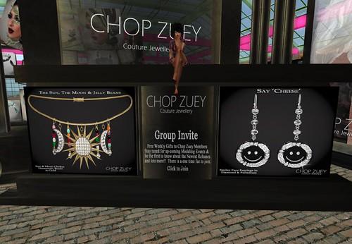 Chop Zuey - Women's Smiley Face Earrings & Women's Sun Necklace by Cherokeeh Asteria