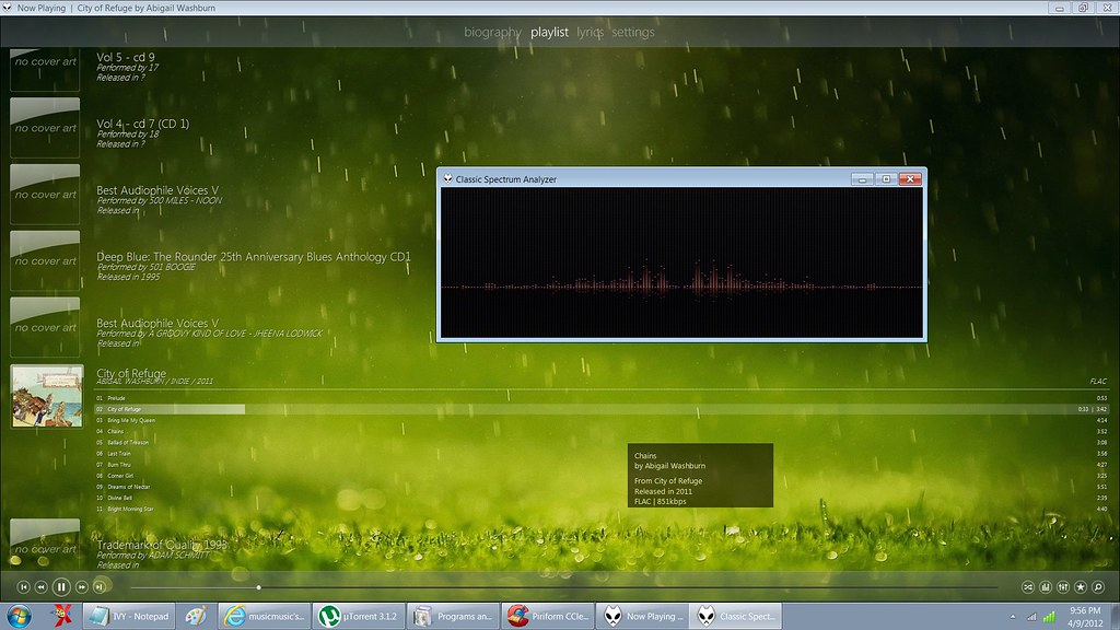 The best looking foobar skin/fcl/ cfg   i found it  :) - 2