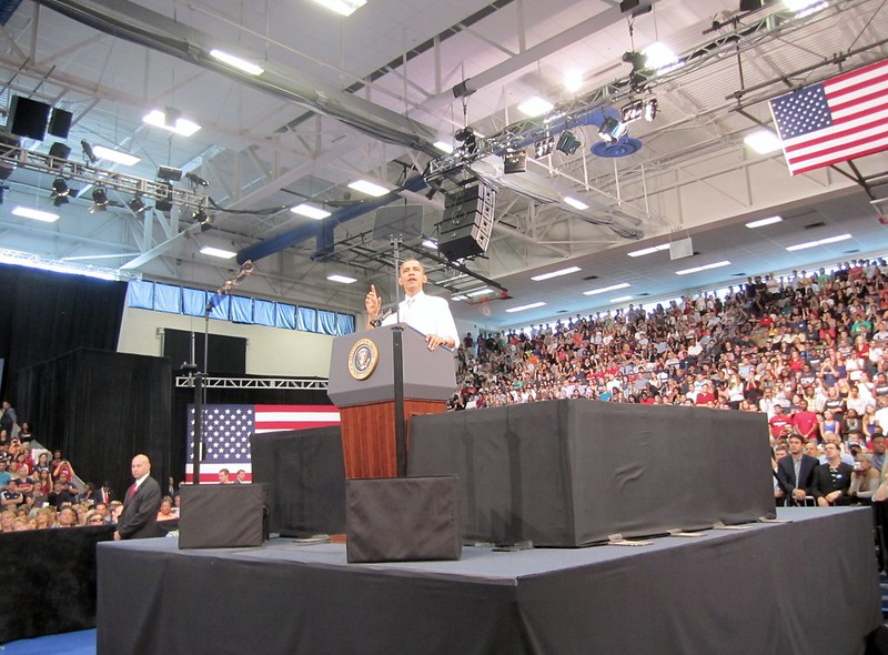 President Barack Obama at Florida Atlantic University