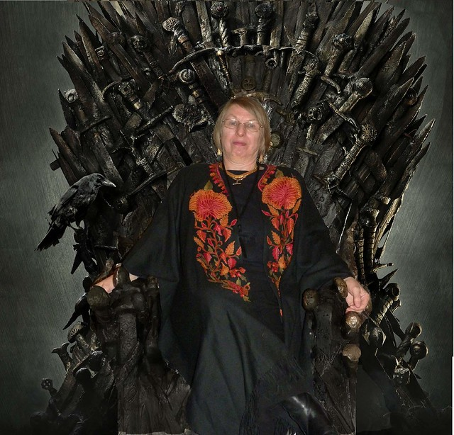 Me on the Iron Throne
