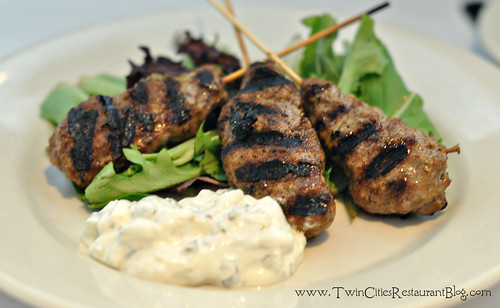 Lamb Skewers at Ursula's Wine Bar ~ White Bear Lake, MN