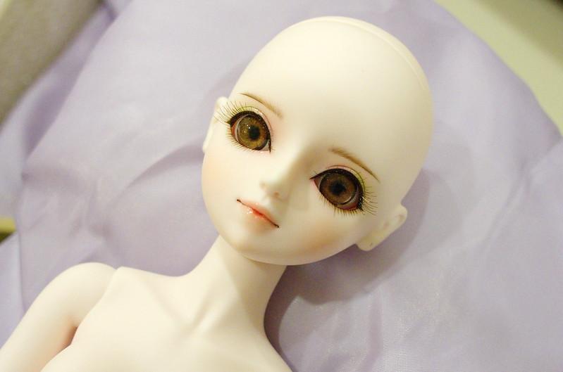 Leya in Pentax's eye