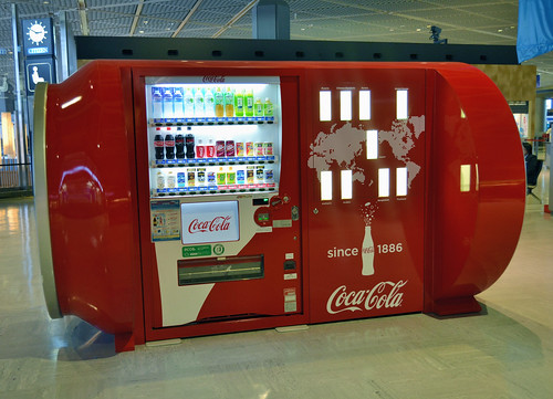 Coca-Cola Can Vending Machine