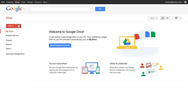 Google Drive 02 - Home Page