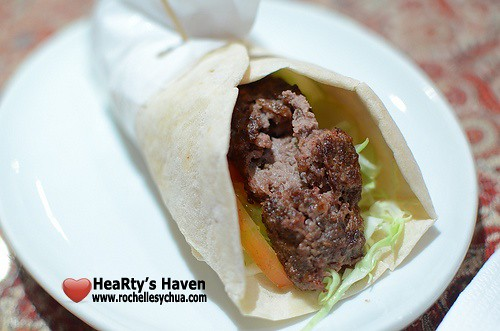 prince of persia beef wrap