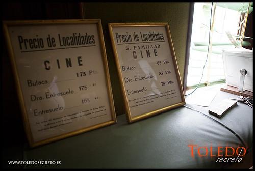 Precios del Cine Alcántara de Toledo