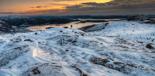 sunset sea mountain clouds strand norge high nikon photographer dynamic sigma range arild hdr barka ryfylke 1850mm d80 jørpeland