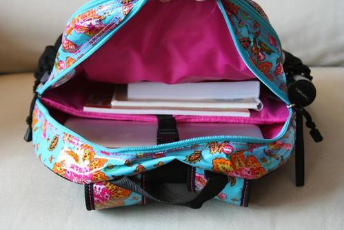 Cool Hadaki Laptop Backpack - Inside Main Area