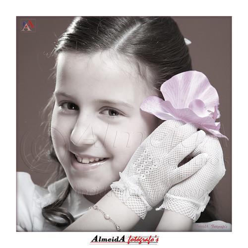 Andrea-flor-pelo by José A. Almeida