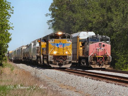 up train louisiana sp unionpacific southernpacific
