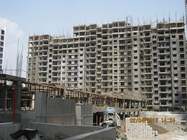 Sparklet - Megapolis Smart Homes 1, Hinjewadi Phase 3, Pune 411057 - under construction podium & A 16,17,18