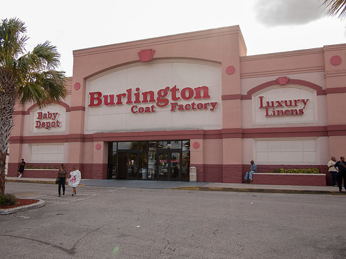 Earlier Target, now Burlington Coat Factory
