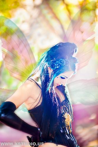 Fairy of Spring Xstudio.US Los Angeles Photographer by Xstudio US Los Angeles Photographer