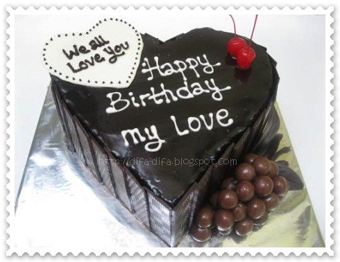 choco love by DiFa Cakes