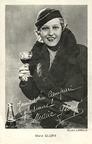 Marie Glory, publicity for Campari