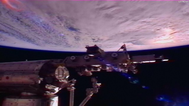 view from space station live - photo #22