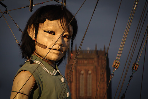 Sea Odyssey - Little Girl Giant, Liverpool