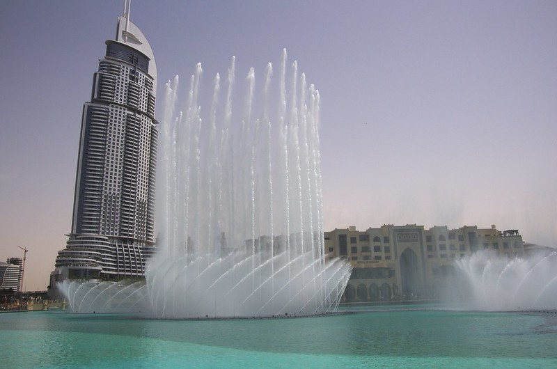 Big fountain