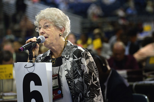 Ruth Daugherty speaks at 2012 United Methodist General Conference