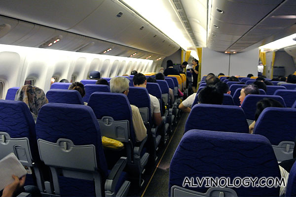 On board Scoot's Boeing 777 from Singapore to Sydney