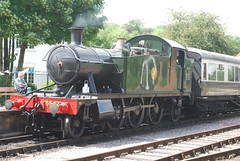 South Devon Railway No 5542 ready to roll