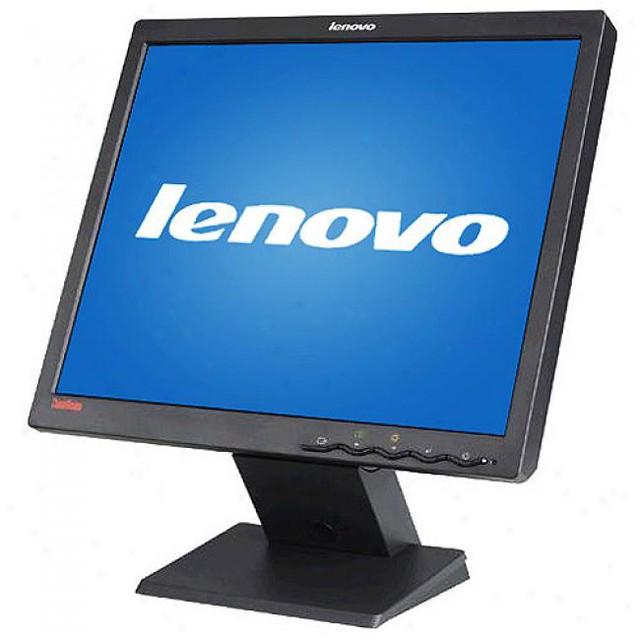 Lenovo Thinkvision 17 Lcd Monitor Komputer Bekas Built Up