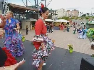 vídeo 04 Ambiente en el ferial V Feria Abril Las Palmas de Gran Canaria 2012