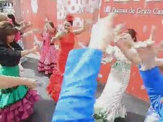 vídeo 02 Ambiente en el ferial V Feria Abril Las Palmas de Gran Canaria 2012