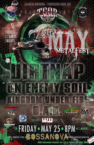 May Metal Fest @ Bossanova Ballroom