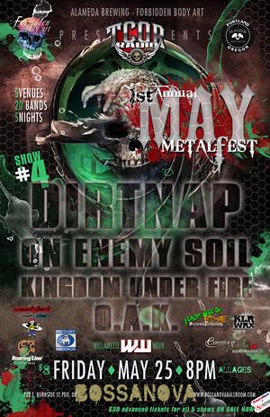 May Metal Fest @ Bossanova Ballroom