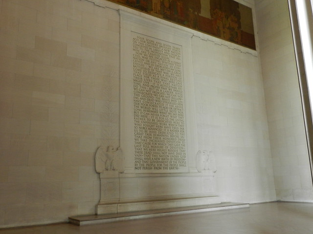 Gettysburg Address - Lincoln Memorial