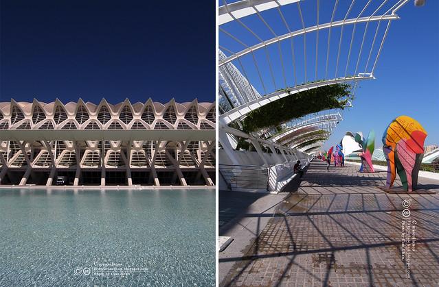 Hola Valencia~瓦倫西亞。藝術科學城 Ciudad de las Artes y las Ciencias R1043476