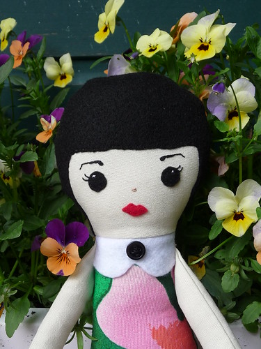 Handmade Fabric Doll