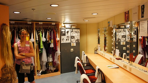 Stardust Theater Backstage - Norwegian Jade Behind the Scenes Tour