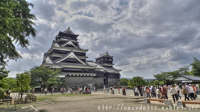 Kumamoto Castle...