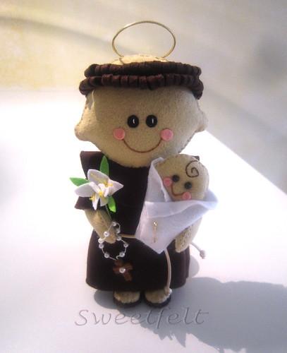 ♥♥♥ Viva o Sto António!!! by sweetfelt \ ideias em feltro