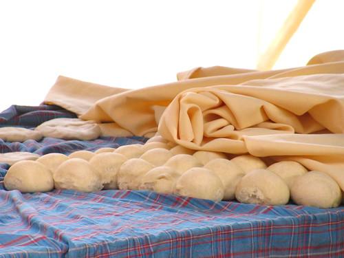 Pan listo para el horno